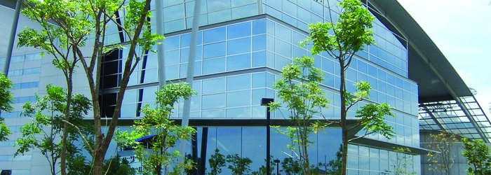 Energy efficient Low-E window film for commercial buildings